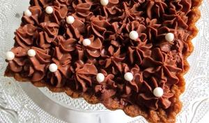 Tarte aux Noisettes & Chocolat