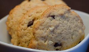 Cookies aux amandes et aux pépites de chocolat