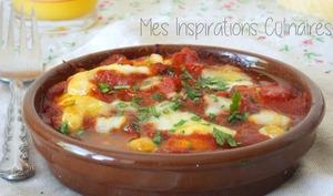 Gratin de raviolis a la sauce tomate