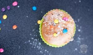 Muffins au yaourt et aux Smarties