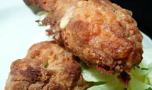 Faux poulet frit.