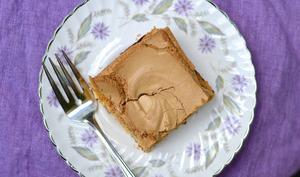 Gâteau à la cassonade meringué