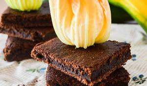 Gâteau léger au chocolat et à la courgette