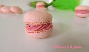 Macarons Fraise ou Coco Choco