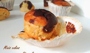 Mini cakes moelleux coco chocolat