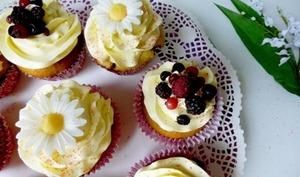 Cupcakes fourrés à la confiture