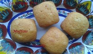Muffins à la vanille sans beurre,sans œufs.