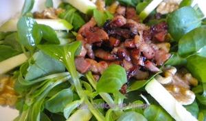 Petite salade d'automne