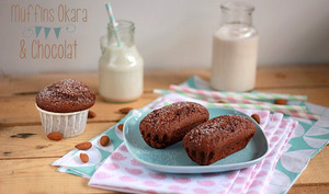 Muffins Okara et Chocolat