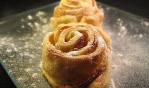 Rosaces aux pommes et au miel
