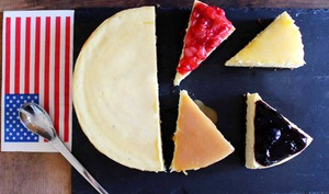 Le vrai cheesecake new-yorkais et ses toppings