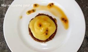 Tartelette citron-spéculoos