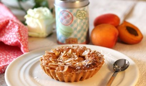 Tarte macaronnée à l'abricot
