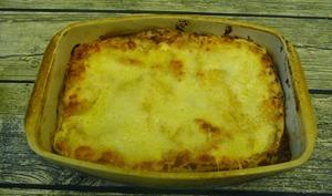 Lasagnes de crêpes à la bolognaise