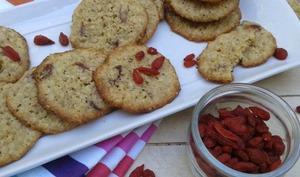 Cookies aux flocons d'avoine et aux baies de goji
