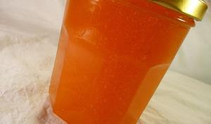 Gelée de melon à la vanille et à l'anis étoilée.