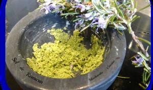 Fleur de sel aux herbes