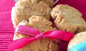 Biscuits sablés au tahini et aux amandes