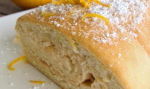 Le biscuit roulé au citron