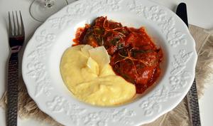 Blettes farcies au Parmigiano Reggiano