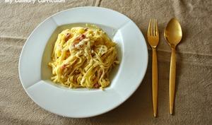 Fettucine à la Carbonara