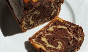 Cake marbré au beurre noisette