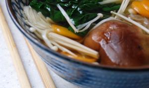 Soupe asiatique détox