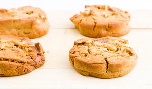 Les cookies cacahuète-chocolat au lait d'Eric Kayser