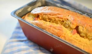 Cake salé mimolette-lardons BIERE