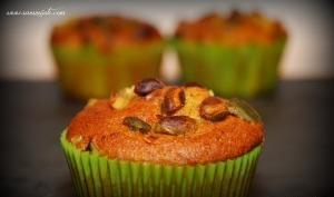 Muffins aux pistaches