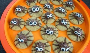 Attaque d'araignées cookies