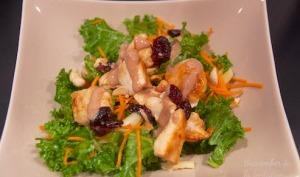 Salade de chou kale à la noisette