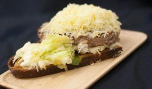 Tartine sauce gribiche