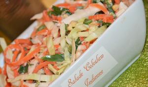 Salade Coleslaw Indienne