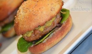 Burger bleu d'Auvergne