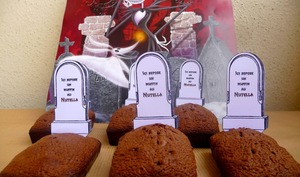Muffins au Nutella tombstone