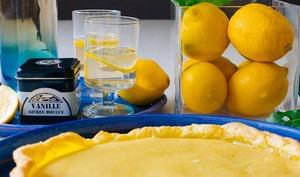 Tarte Citron et Vanille
