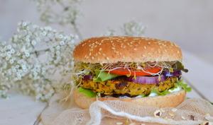 Burger végétarien