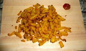 Frites de butternut à l'Actifry