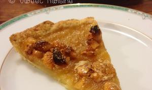 La tarte aux pommes au nougat