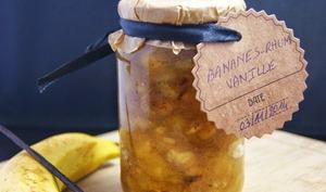 Confiture Bananes, Rhum et Vanille