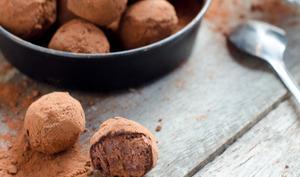 Truffes en chocolat