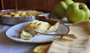 Tarte aux pommes et souchet