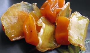 Gingembre confit au kumquat