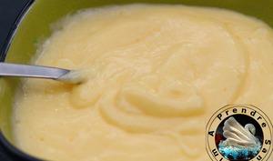 Lemon curd crémeux