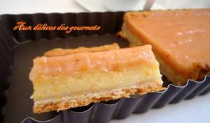 tarte à l'orange et aux amandes