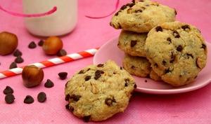 Cookies chocolat / noisettes