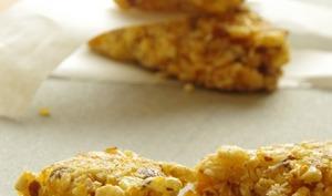 Barres de céréales à l'abricot, aux amandes et à la noix de coco