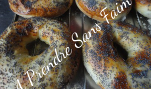 Bagels aux graines de sésames ou pavot