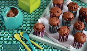 Muffins Choco au Yaourt Grec